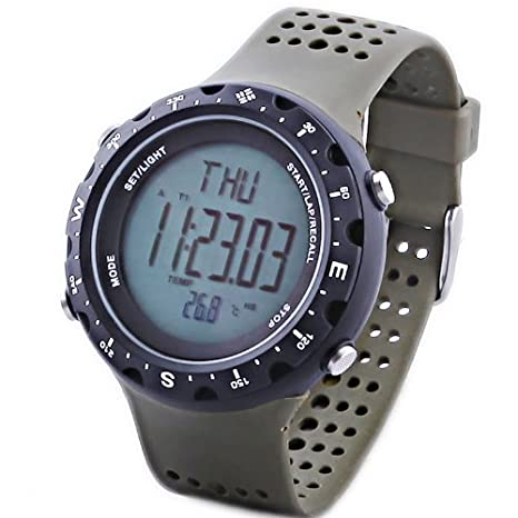 Columbia Men's CT004301 Singletrak Green Digital Sports Watch