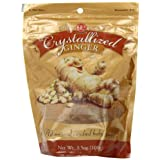 Ginger People Crystallized Ginger Candy Bag -- 3.5 oz Each ~ Ginger People