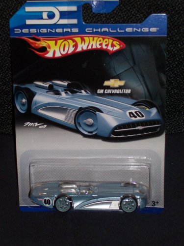 Hot Wheels Designers Challenge Ice Blue GM Chevroletor 1:64 Scale - 1