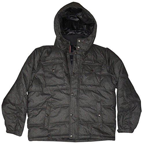 tommy hilfiger men s winter jacket size xl charcoal. Black Bedroom Furniture Sets. Home Design Ideas
