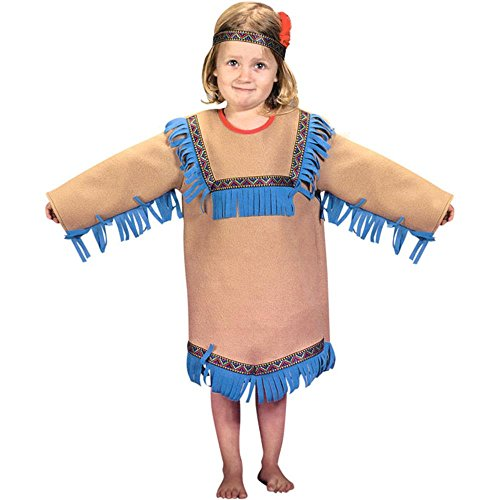 Toddler Native Indian Girl Costume 4T
