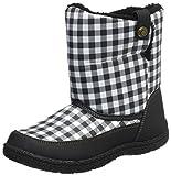 [オシュコシュ] 防寒ブーツ  OSK WJ143 ブラックチェック ブラックチェック 20 2E