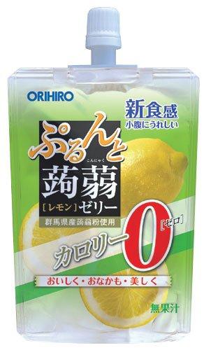 オリヒロ 蒟蒻ゼリーST0kcalレモン 130g