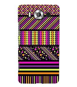 ethnic traditional jaipuri pattern 3D Hard Polycarbonate Designer Back Case Cover for Nokia Lumia 950 :: Microsoft Lumia 950