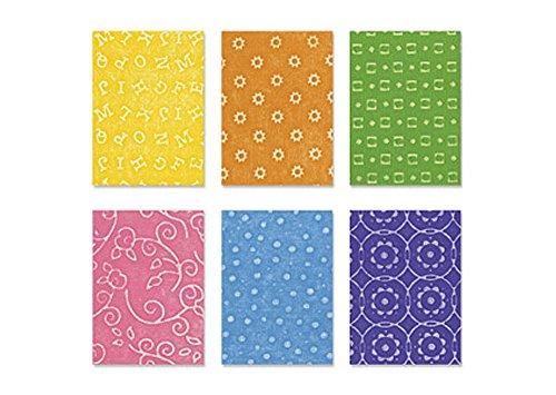 Sizzix Texturz Texture Plates-Kit #8 (Sizzix Texture Starter Kit compare prices)