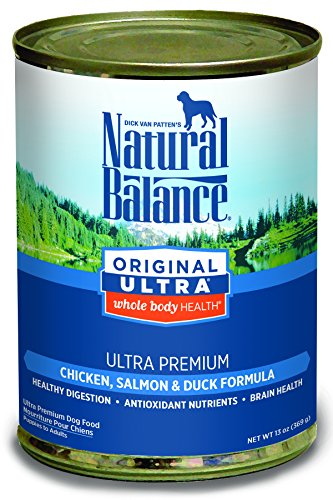Natural Balance Canned Dog Food, Ultra Premium Recipe, 12 x 13 Ounce Pack (Natural Balance Canned compare prices)