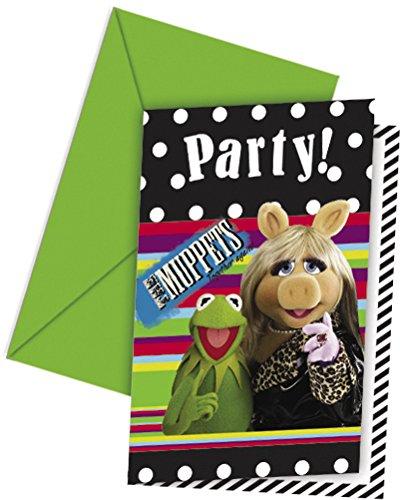 Einladungskarten Muppets