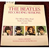Beatles, The: Recording Sessions