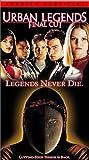 echange, troc Urban Legends: Final Cut [VHS] [Import USA]