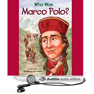 who was marco polo audible audio edition. Black Bedroom Furniture Sets. Home Design Ideas