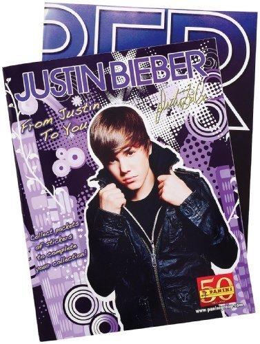 Justin Bieber Sticker Album and Stickers - 1
