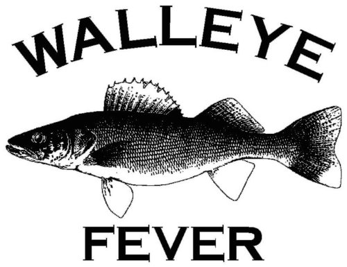 Walleye Fever Window Decal | Outdoor Decals