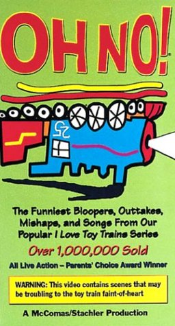 Oh No Toy Train Bloopers [VHS]