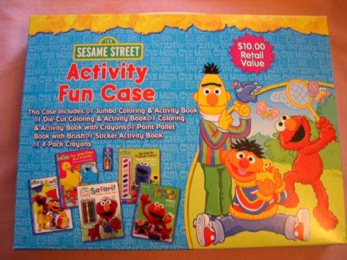 Seasame Street Activity Fun Case - 1