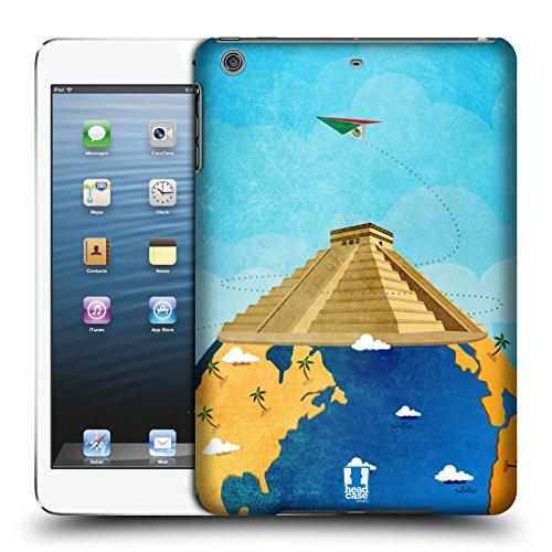 Head Case Designs チチェン・イッツァ 世界旅行 ハードバックケース Apple iPad mini 1 / 2 / 3