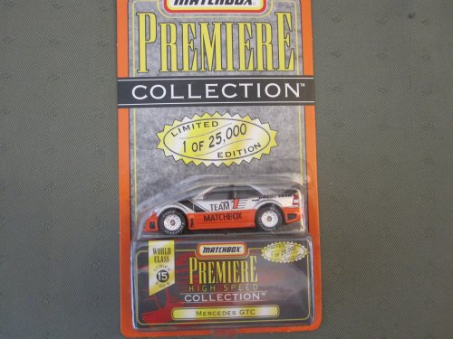 Matchbox Premiere Mercedes GTC Series 15 (34316) High Speed Collection