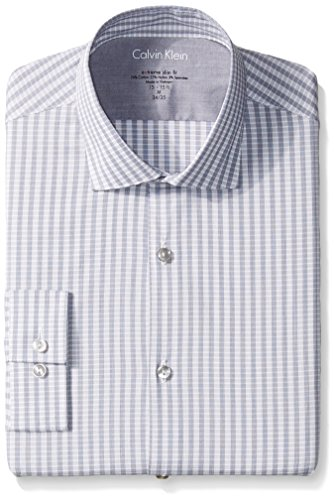Calvin-Klein-Mens-Xtreme-Slim-Fit-Check-Shirt