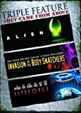 Triple Feature: They Came from Above (Alien / Invasion of the Body Snatchers / Lifeforce)