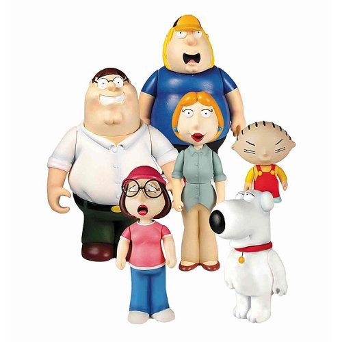 Picture of Mezco Family Guy Assortment 4 Figure (B000C9YKGE) (Mezco Action Figures)