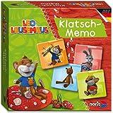 Noris Spiele 606011426 - Leo Lausemaus Klatsch-Memo