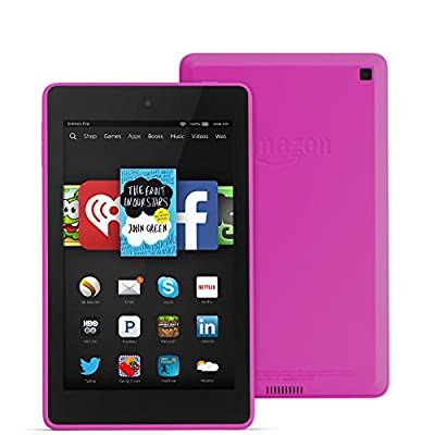 """Fire HD 6, 6"""" HD Display, Wi-Fi, 16 GB - Includes Special Offers, Magenta"""