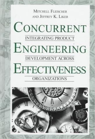 Concurrent Engineering Effectiveness: Integrating Product Development Across Organizations