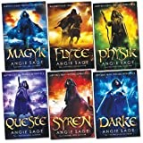 Septimus Heap Pack, 6 books, RRP £41.94 (Magyk; Flyte; Physik; Queste; Syren; Darke). Angie Sage