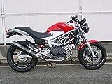 ダックスコーポレーション [WR'S] スーパーバイクフルエキゾースト カーボンサイレンサー マフラー [VTR250(FI) '09~] 0-40-SC1204JM