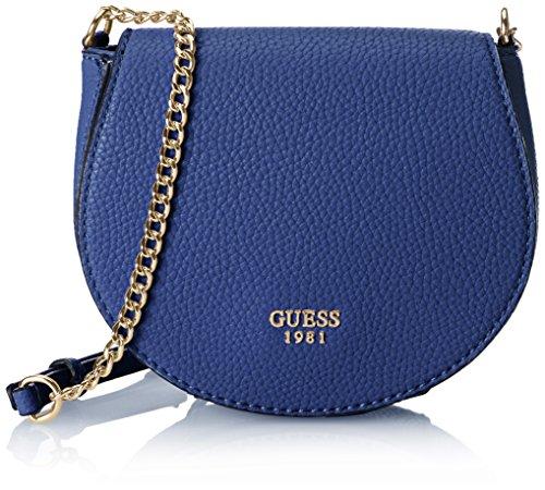 GUESS Cate Petite Saddle Bag Cobalt