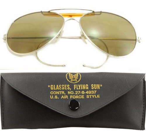 10200 Air Force Style Sunglasses (Smoke)