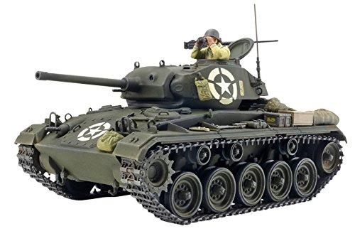 タミヤ・イタレリシリーズ No.20 1/35 アメリカ軽戦車 M24 チャーフィー 37020