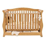 BabyStyle Hollie 2 Cot Bed inc Drawer (Country Pine)
