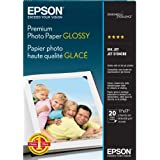 Epson Premium Photo Paper GLOSSY (11x17 Inches, 20 Sheets) (S041290)