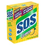 S.O.S. Soap Pads, Lemon Scent, 10-Count Boxes ((Pack of 12))