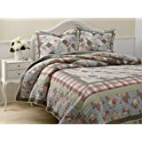 Laura Ashley Brookshire Quilt Set