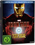 Iron Man - Trilogie - Steelbook inkl. exklusivem Iron Man Comic [Blu-ray] [Limited Collector's Edition]