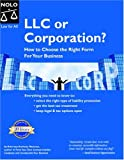 img - for LLC or Corporation? How to Choose the Right Form for Your Business book / textbook / text book