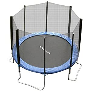 Ultega 12-Foot Jumper Trampoline with Safety Net