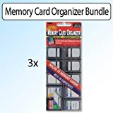 Pioneer Photo Albums Memory Card Organizer Bundle of 3