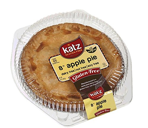 Katz Gluten Free Family Size Apple Pie, 20 Ounce, Certified Gluten Free - Kosher - Dairy, Nut & Soy free - (Pack of 6) (Pre Made Sandwiches compare prices)