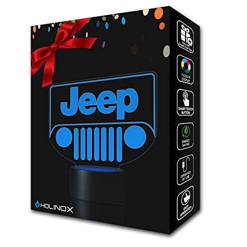 Holinox - Jeep Lighting Decor Gadget Lamp (Jeep Emblem Light compare prices)
