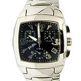 [フォリフォリ]FOLLI FOLLIE ウオッチ 腕時計 トノー クロノグラフ シルバー/ブラック WF4T0033BEKKZ[並行輸入品]