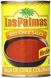Las Palmas Chile Sauce, Medium Red, 10 Ounce (Pack of 24)
