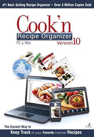 Cook'n Recipe Organizer Version 10 for Mac [Download]