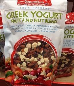 28oz Greek Yogurt Fruit & Nut Blend Wildroots 100% Natural