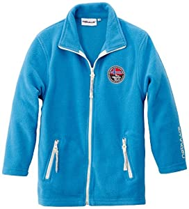 Nebulus - Veste en polaire Norways II - vêtement d'extérieur (W001) - Enfants - Bleu - 10a