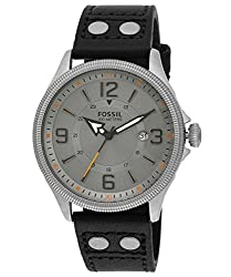 Fossil End-of-Season Recruiter Analog Grey Dial Mens Watch - FS4937