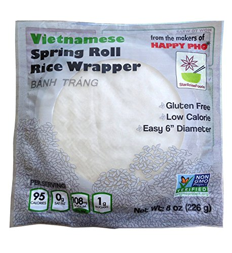 Star Anise Rice Wrapr No Gmo Sprng Roll V 8 Oz (Star Anise Foods compare prices)
