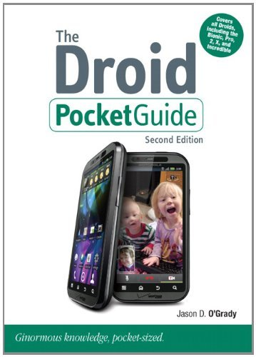 The Droid Pocket Guide (2nd Edition) (Peachpit Pocket Guide)