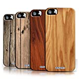 STUFF4 Phone Case / Cover for Apple iPhone SE / 7 Pack / Wood Grain Effect/Pattern Collection